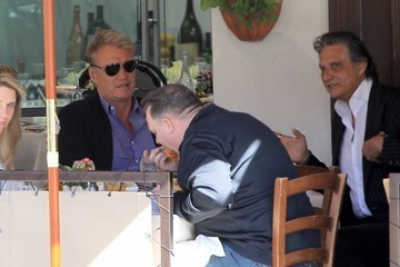 Dolph Lundgren Dolph Lundgren Has Lunch With His Daughter
