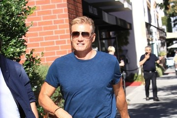 Dolph Lundgren Dolph Lundgren Goes Out With a Friend in Beverly Hills