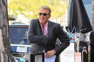 Dolph Lundgren Dolph Lundgren Dressed Up For Lunch In Beverly Hills