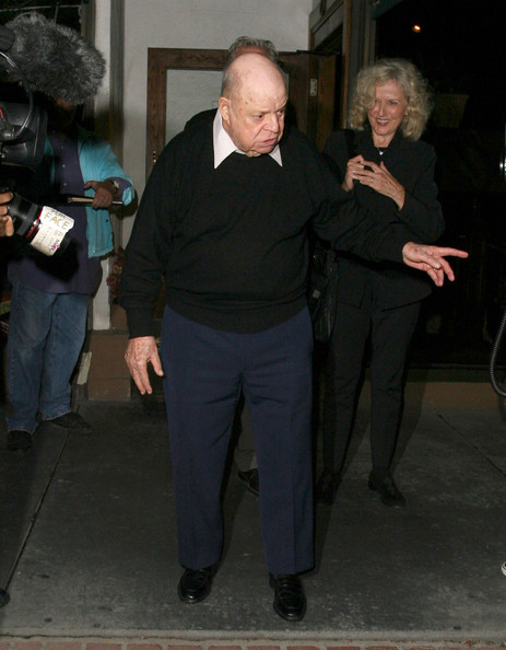 Don Rickles Wife Don rickles treats his wife to