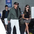 Dylan Douglas Michael Douglas and Catherine Zeta-Jones Touch Down at LAX