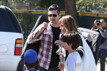 Eddie Cibrian LeAnn Rimes and Eddie Cibrian Out in LA