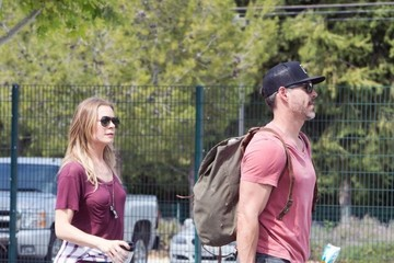 Eddie Cibrian LeAnn Rimes And Her Husband Eddie Cibrian Take Their Son To A Soccer Game