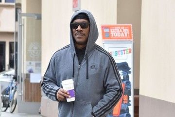 Eddie Murphy Eddie Murphy Stops for His Morning Coffee