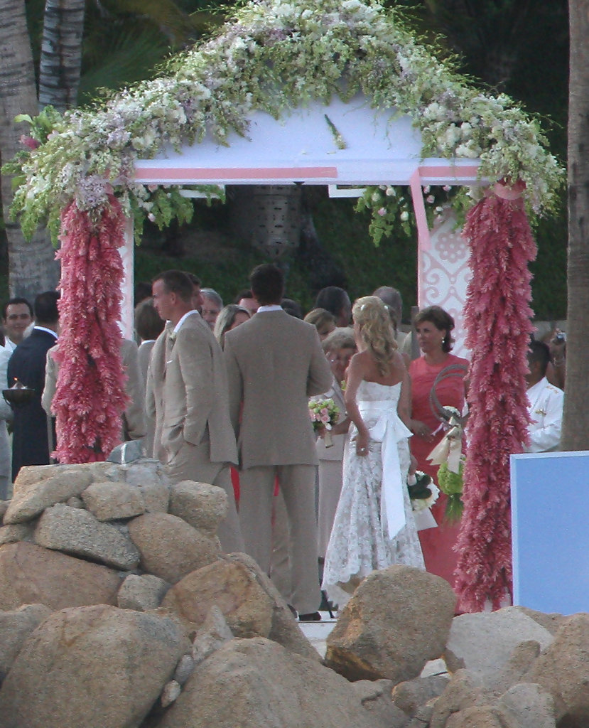 Eli Manning And Abby McGrew Tie The Knot In Mexico