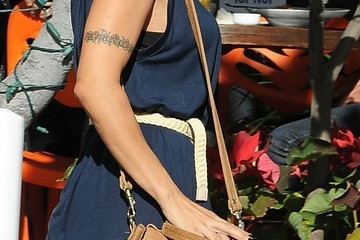 Elisabetta Canalis Elisabetta Canalis Stops by Fred Segal
