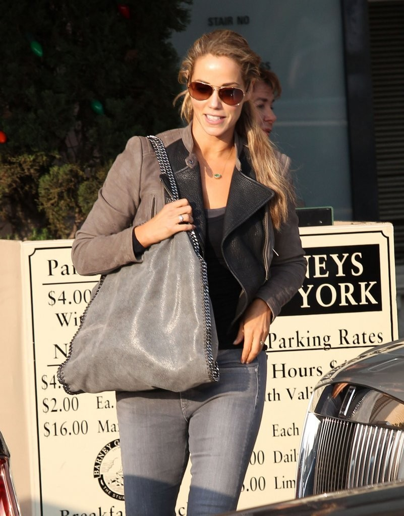 Elizabeth Berkley Stops by Barneys New York
