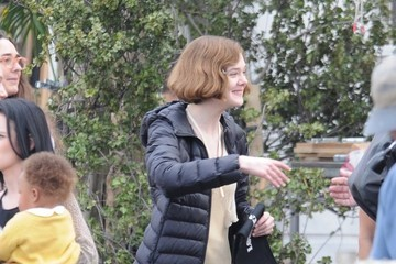 Elle Fanning Stars on the Set of 'Live By Night'