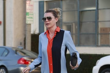 Ellen Pompeo Ellen Pompeo Visits The Salon
