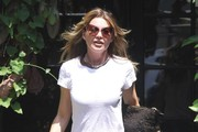 Ellen Pompeo Visits the Salon