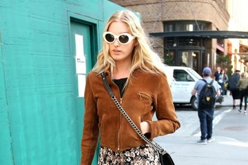 Elsa Hosk Elsa Hosk Goes Out and About in New York City