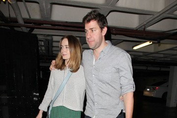 Emily Blunt Ben Affleck Gets Dinner with His Famous Friends