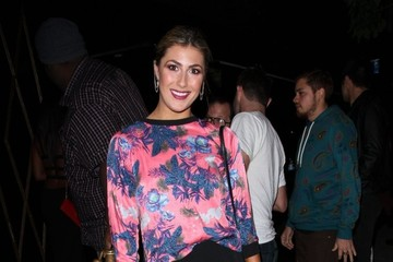 Emma Slater Celebrities Partying At Bootsy Bellows
