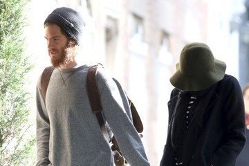 Emma Stone Emma Stone and Andrew Garfield Hold Hands