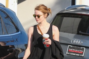 Emma Stone Emma Stone at the Gym in Los Angeles