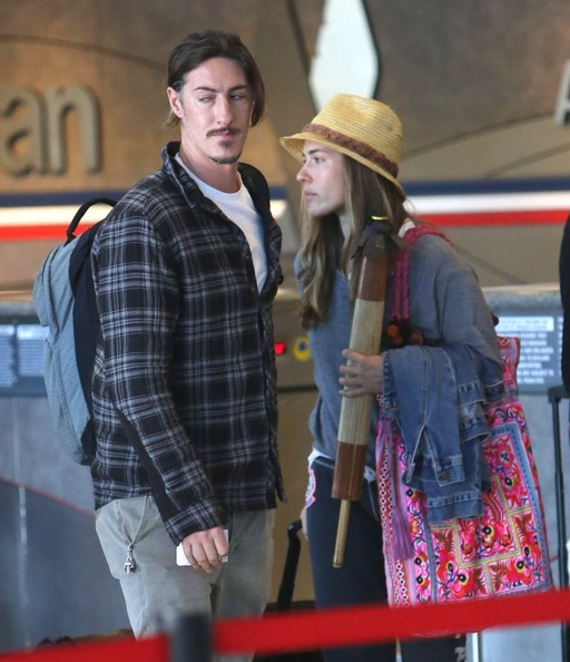 Eric Balfour Married Eric Balfour Departing on a