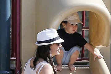 Eric Cowell Lauren Silverman Enjoys a Day at the Park With Her Son