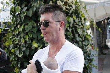 Eric Cowell Simon Cowell Takes Son Eric To Lunch At The Ivy