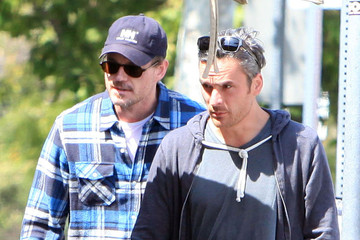 Eric Dane Balthazar Getty Eric Dane And Balthazar Getty Out For Lunch In West Hollywood