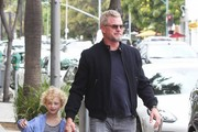 Eric Dane Takes His Daughter Toy Shopping