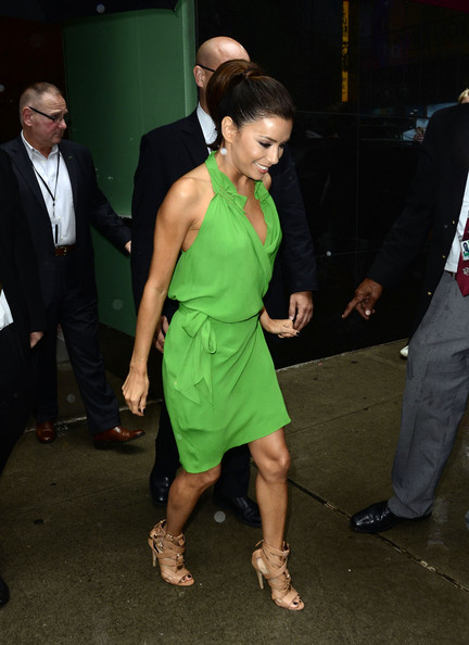 Eva Longoria - Eva Longoria Is Stunning In Green