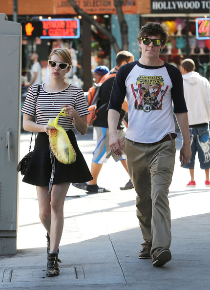 Evan Peters - Emma Roberts Searches For A Costume