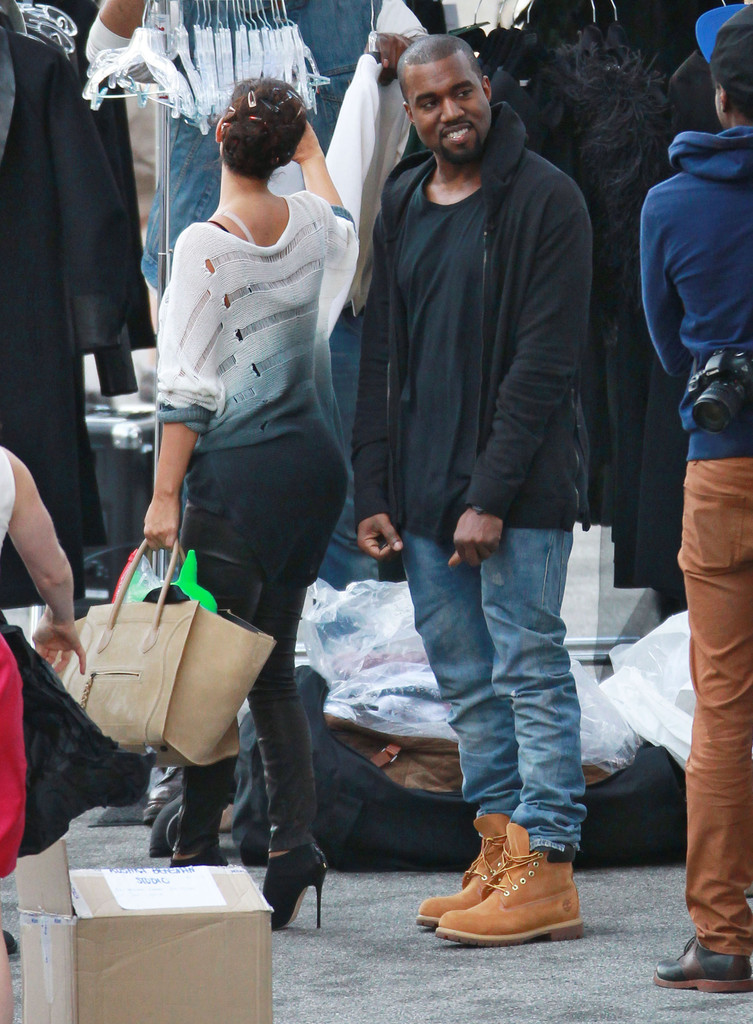 kanye west photos photos exclusive shorthaired kim