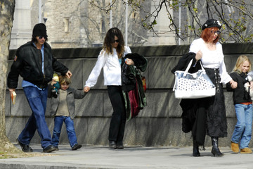 Johnny Depp Vanessa Paradis A Look Back: Johnny Depp and Family Out in London