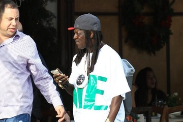 Flavor Flav Flavor Flav Grabs Lunch in Beverly Hills
