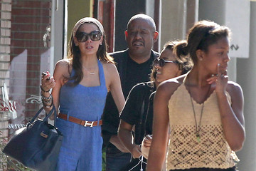 True Whitaker Forest Whitaker Taking His Wife And Daughters Out On Mother's Day
