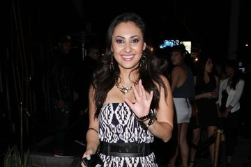 Francia Raisa Celebrities Partying At Bootsy Bellows