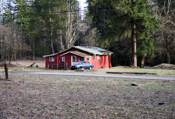 "General views show the house that will serve as Jacob's (Taylor Lautner's character) house in the new ""Twilight: Breaking Dawn"" movie. The house is on private property deep in the rural subarbs of Vancouver."