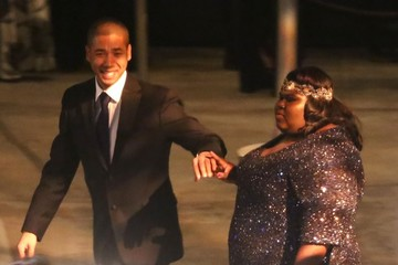 Gabourey Sidibe Stars Attending The Lance Bass & Michael Turchin Wedding