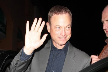 Gary Sinise Gary Sinise Gets Dinner in Sherman Oaks