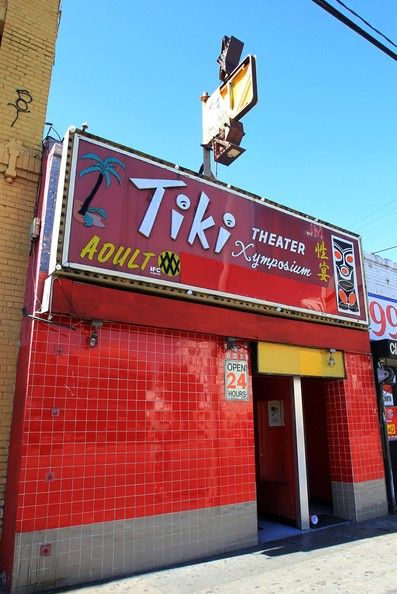 General Views Of Tiki XXX Adult Theater Where Actor Fred Willard Was ...