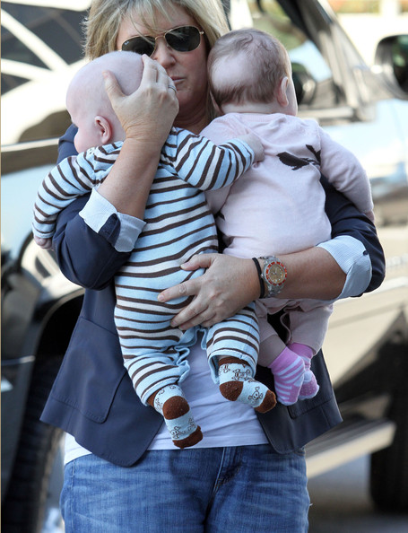 Neil Patrick Harris And Family Arriving For A Flight At LAX
