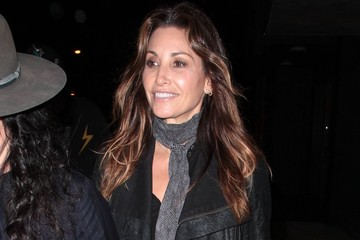 Gina Gershon Celebs Out Late in West Hollywood