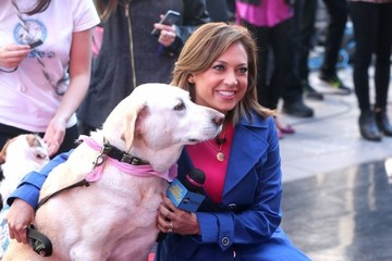Ginger Zee Celebrities Visit 'Good Morning America'