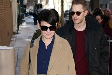 Ginnifer Goodwin Celebs Stop by the ABC Studios