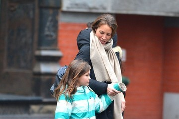 Grace Burns Christy Turlington Out And About In NYC