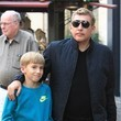 Grayson Chrisley Todd Chrisley Takes His Son Shopping At The Grove in Hollywood
