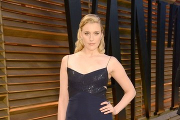 Greta Gerwig The 2014 Vanity Fair Oscar Party