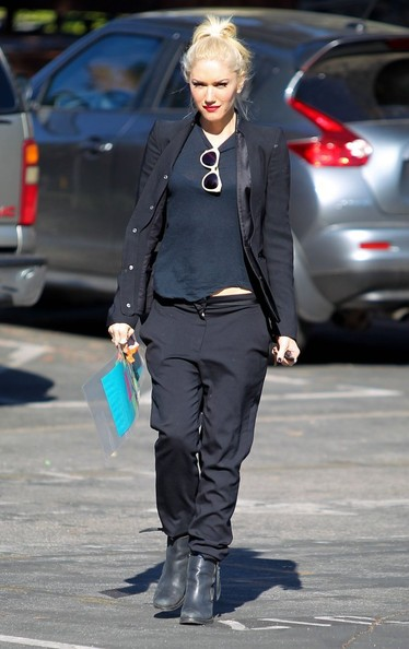 No Doubt front woman Gwen Stefani attends a meeting in Beverly Hills, CA on November 21, 2012.