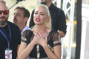 Gwen Stefani Gwen Stefani Performs on NBC's 'Today'
