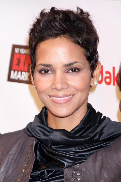 Halle Berry Messy Cut