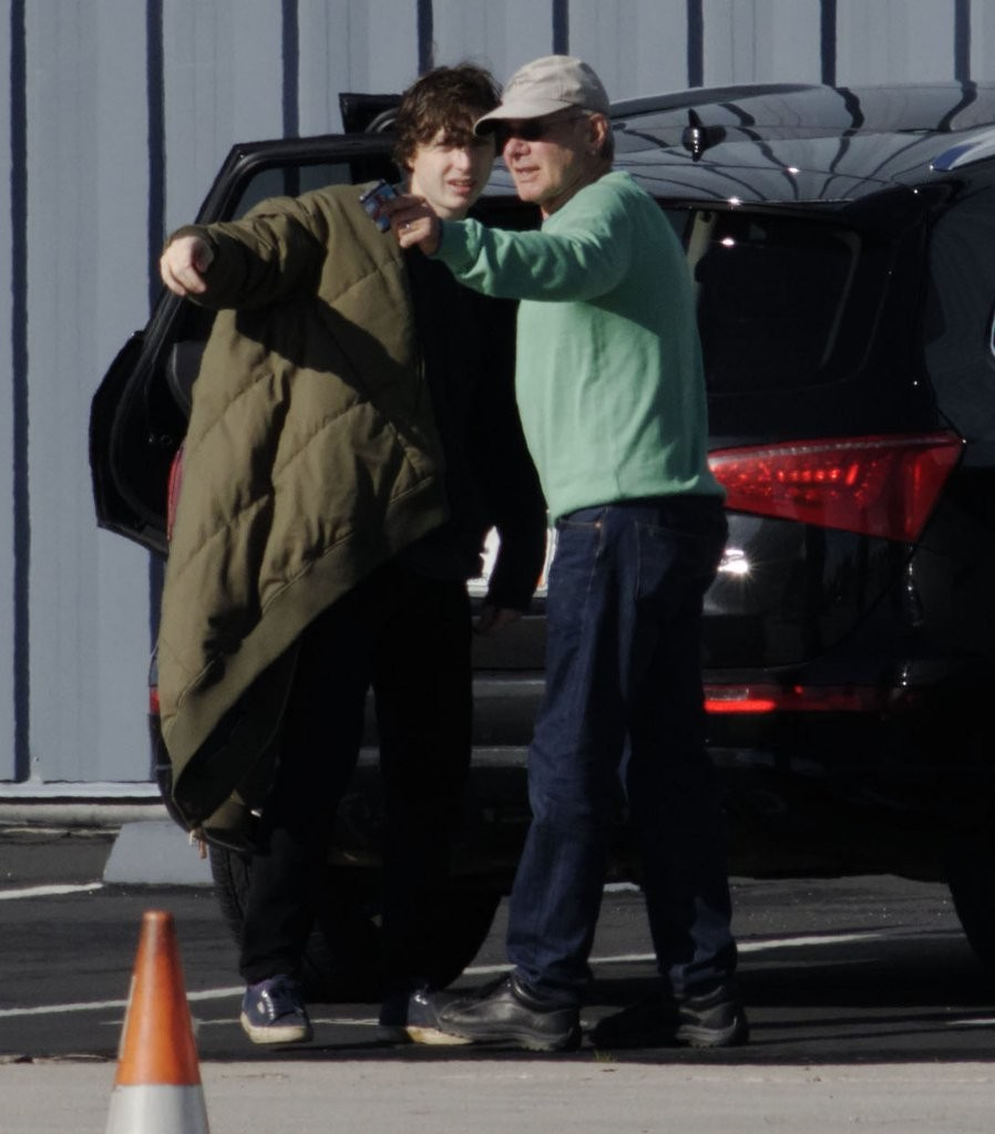 Harrison Ford and Malcolm Ford Photos Photos - Harrison Ford And