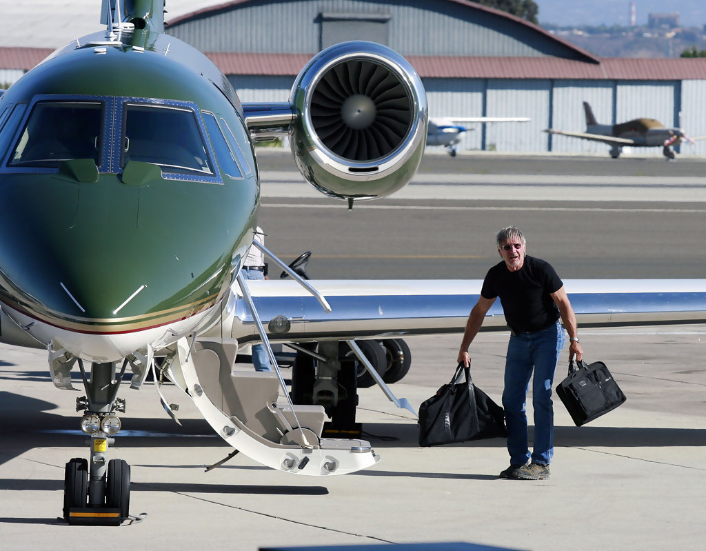 Image result for harrison ford private jet