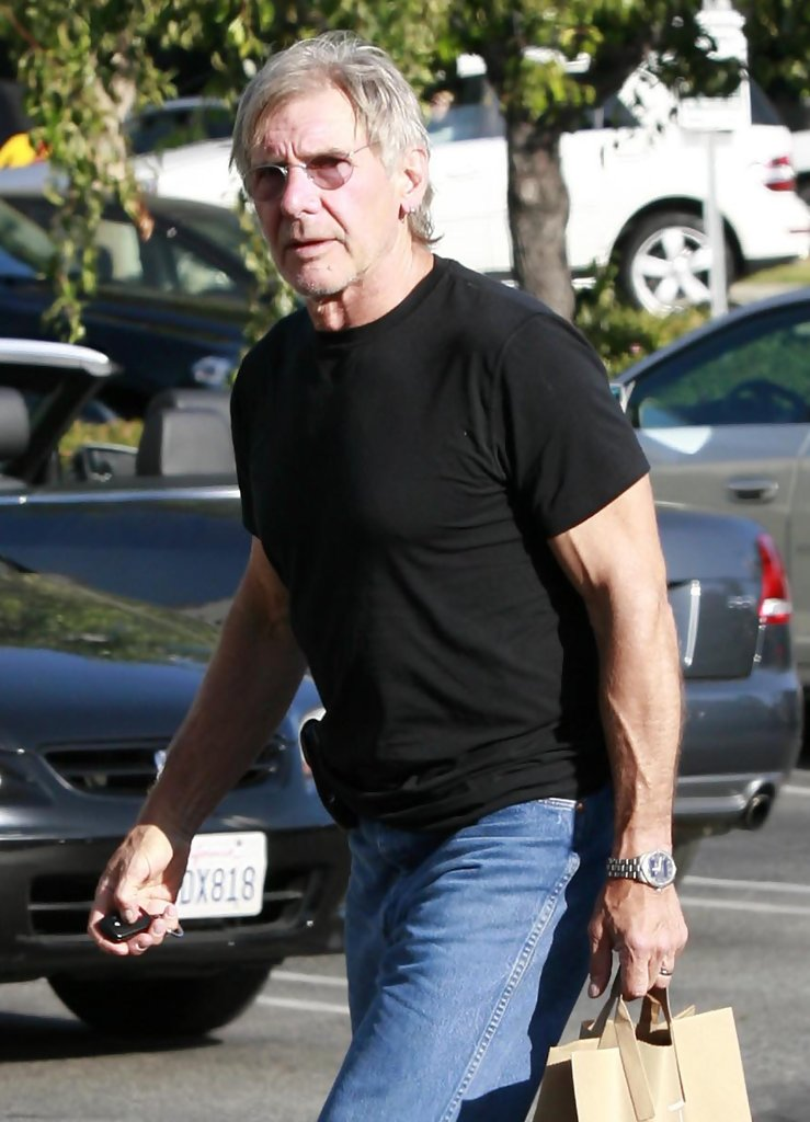Jaguar Santa Monica >> Harrison Ford Out Grocery Shopping In Santa Monica - Zimbio
