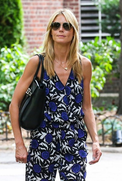Heidi Klum Takes Her Kids To The Central Park Zoo