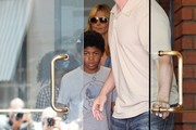 Heidi Klum Takes Her Kids Out For Lunch